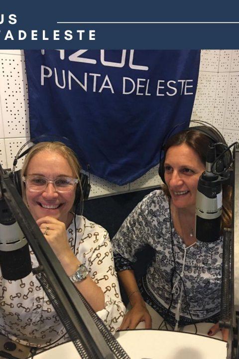 """Graciela Caffera y Claudia Huelmo, directivas de Punta del Este Bureau, presentan el Plan de desarrollo estratégico elaborado para el destino """"Punta del Este""""."""