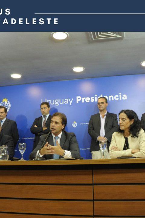 Conferencia de prensa de PRESIDENCIA:medidas adoptadas por el gobierno de Uruguay hoy.