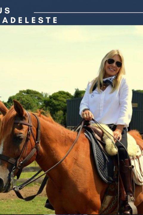 Cristina Glenz. Haras Las Tordillas Luxury Lodge: Un hotel boutique que invita a cabalgar con árabes entre las sierras.