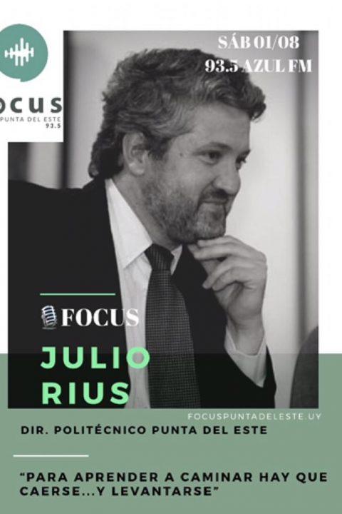 Julio Rius: Aprender a caminar implica caerse, y levantarse!