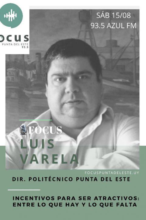 Luis Varela: Incentivos para ser atractivos, lo que hay y lo que falta.