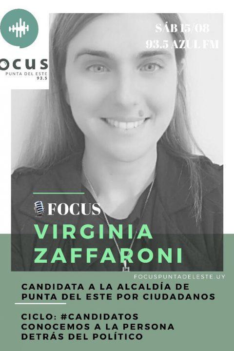 Virginia Zaffaroni, candidata al Municipio de Punta del Este