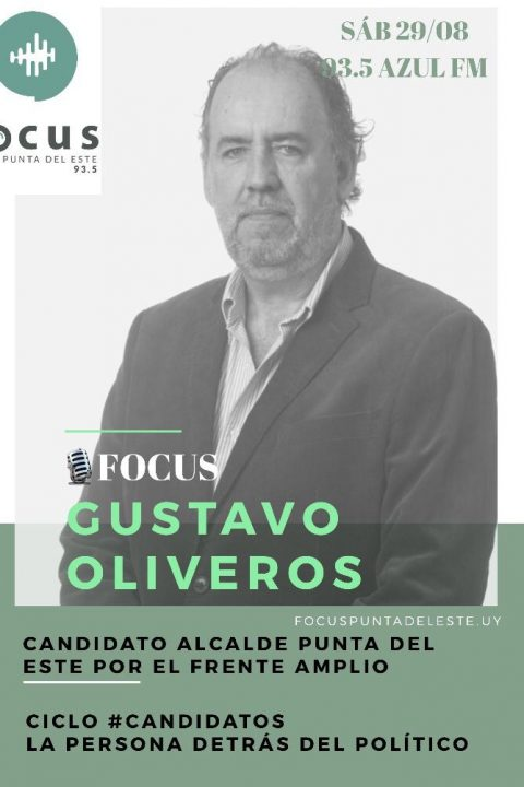 # Candidatos:Gustavo Oliveros, candidato al Municipio de Punta del Este