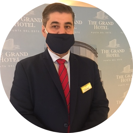 Ernesto Álvarez, Gerente de Seguridad en The Grand Hotel Punta del Este: Certificación por buenas prácticas frente al COVID-19