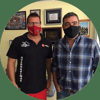 Playas seguras: Marcelo Inzaurralde & Carlos Curbelo desde la Dirección de deportes de la Intendencia de Maldonado nos cuentan sobre el comienzo de temporada de la Brigada de Guardavidas del departamento.