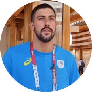 Enzo Martínez, de la piscina del Campus de Maldonado, a estar entre los mejores nadadores olímpicos.